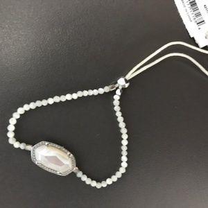 KENDRA SCOTT Elaina Mother Of Pearl Beaded Bracele